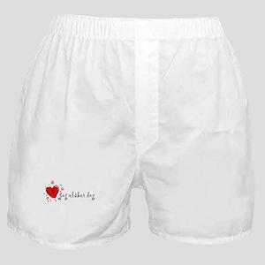 """I Love You"" [Norwegian] Boxer Shorts"